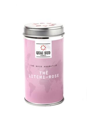 Black tea Litchi-Rose Quai Sud