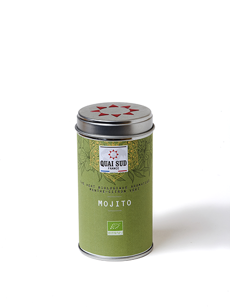ORGANIC GREEN TEA MOJITO FLAVOURED WITH MINT AND LIME -0