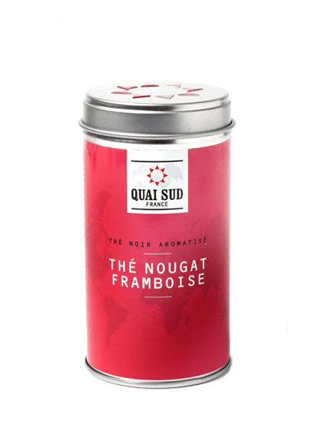 Black tea Nougat Raspberry Quai Sud