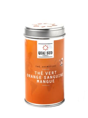 Thé vert glacé Orange Sanguine-Mangue Quai Sud