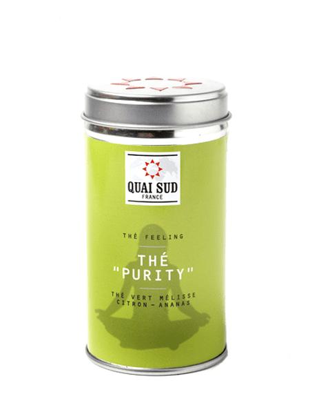 Thé vert Purity (mélisse, ananas, citron) Quai Sud