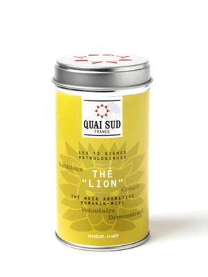 Lion black tea (rosemary, honey) Quai Sud