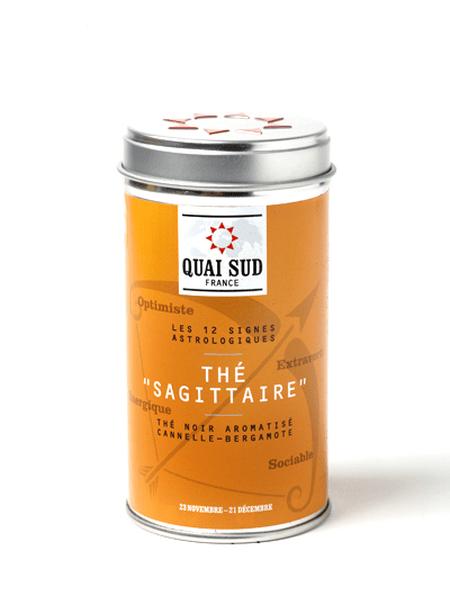 Sagittarius black tea (cinnamon, bergamot) Quai Sud