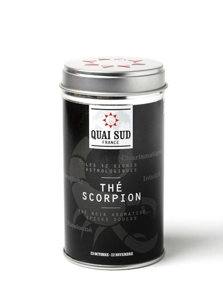 Scorpion black tea (sweet spices) Quai Sud