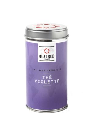 Thé noir Violette Quai Sud