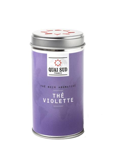 Black tea Violette Quai Sud