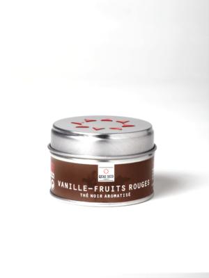 Vanilla-red fruit tea