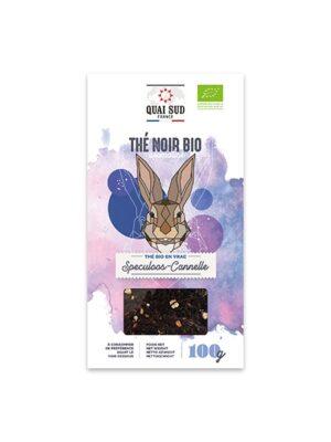THÉ NOIR BIO AROMATISÉ SPECULOOS - CANNELLE Boîte Carton 100 g-0