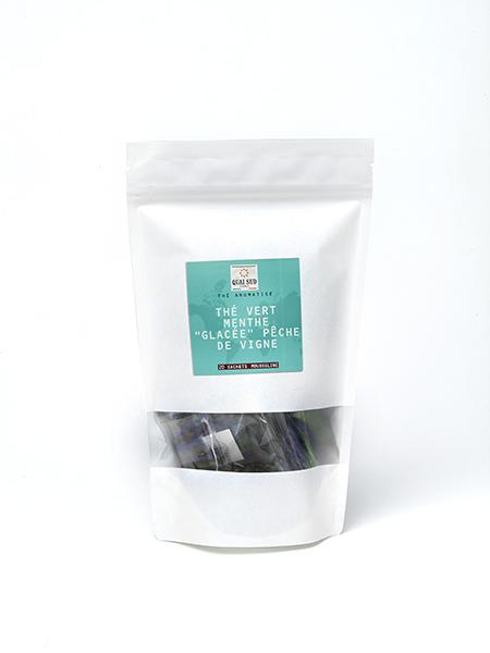 iced mint tea - vine peach kraft refill 20 tea bags-0