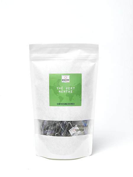 green tea mint refill kraft 20 tea bags-0