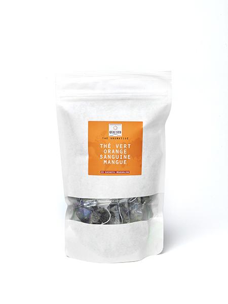 green tea blood orange mango refill kraft 20 tea bags-0